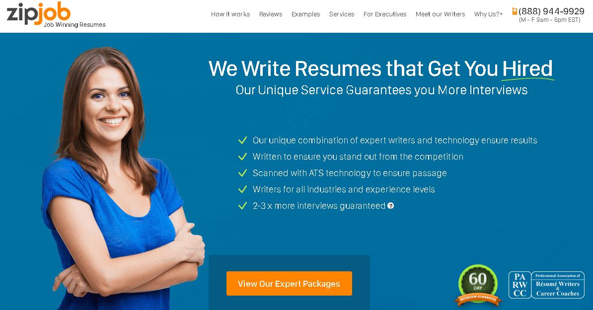 zibjob winning resumes
